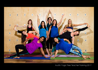 Yoga Tree 5x7 format Group Photo